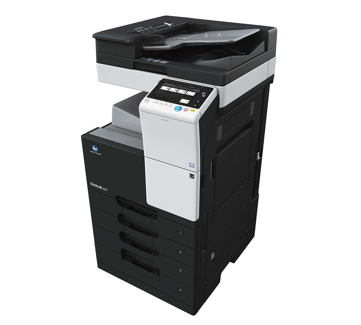 Konica Minolta bizhub 227 office printer